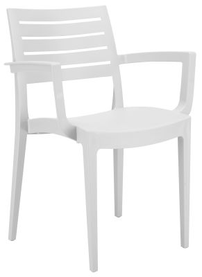 Fresco Armchair White Color