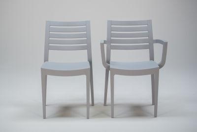 Fresco Chair And Armchair Grey Colour