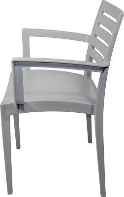 Naples Armchair---Grey-3