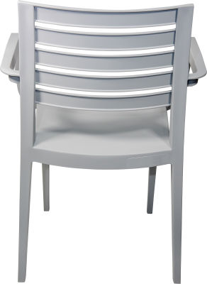 Naples Armchair---Grey-4