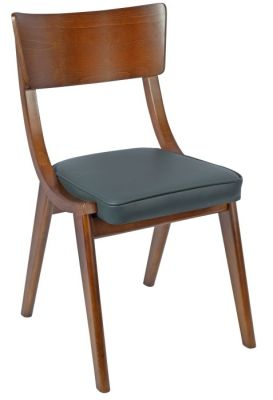 Costro Designer Dining Chair Grey