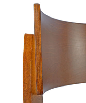 Costro Designer Dining Chair Frame Zoomed