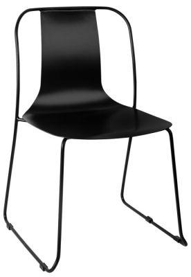 Rotlio Heavy Duty Outdoor Chair - Black