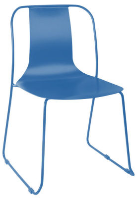 Rotlio Heavy Duty Outdoor Chair Blue
