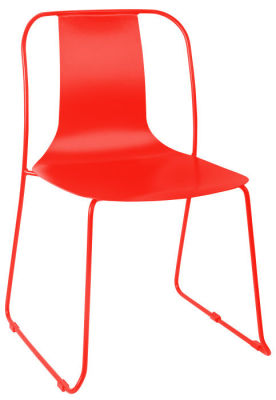 Rotlio Heavy Duty Outdoor Chair Red