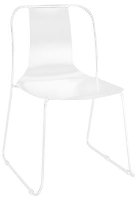 Rotlio Heavy Duty Outdoor Chair White