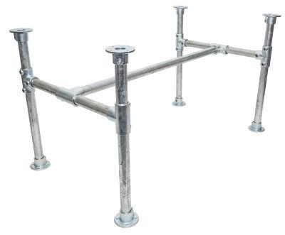 Yemal Scaffold Table Base Shot