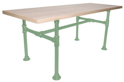 Yemal Scaffold Table Base Green View