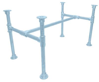 Yemal Scaffold Table Base Pastel Blue