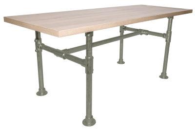 Yemal Scaffold Table Base Moss Grey View