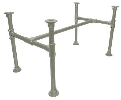 Yemal Scaffold Table Base Moss Grey
