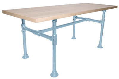 Yemal Scaffold Table Base Pastel Blue View