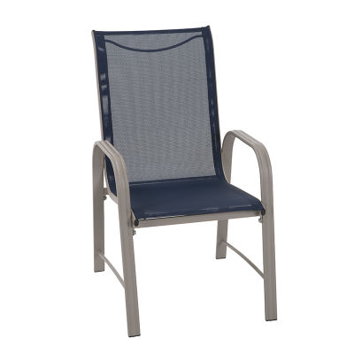 7 Piece Patio Table And Chair Set - Sand Frame