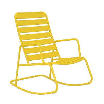 4 - Yellow Rocking Chair - 3 Piece Rocker Set
