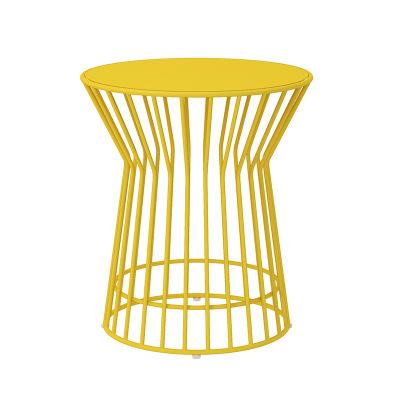 5 - Yellow Side Table - 3 Piece Rocker Set