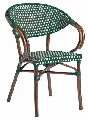 Bibat Weave Green And White