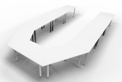 Priority Horseshoe White Top Angle Extended