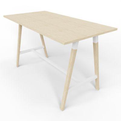 4 Person High Table - Standard - Oak Top
