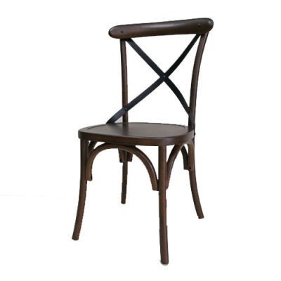 Liberty Walnut Dining Chair Front Angle