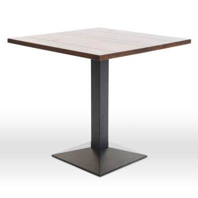 Liberty Walnut Square Dining Table Diagonal Top