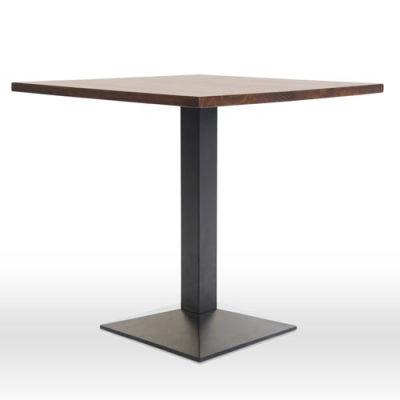 Liberty Walnut Square Dining Table Diagonal