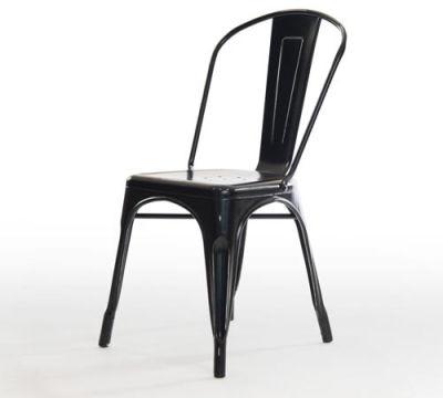 Castle Antique Black Chair Angle