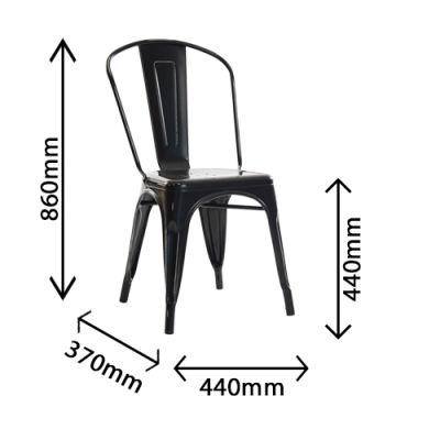 Castle Antique Black Chair Dimensions