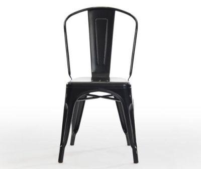 Castle Antique Black Chair Front