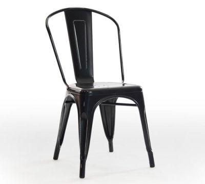 Castle Antique Black Chair