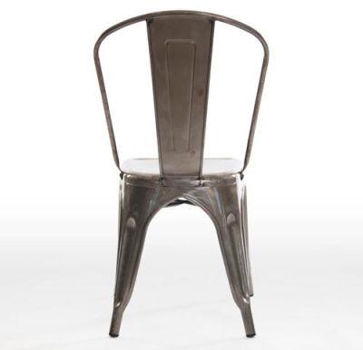 Castle Gun Metal Grey Chair Back