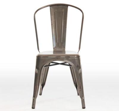 Castle Gun Metal Grey Chair Front