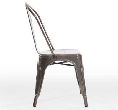 Castle Gun Metal Grey Chair Side