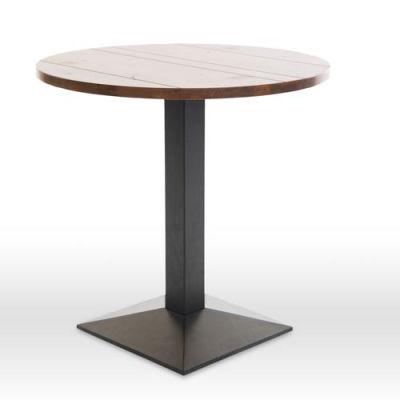 Liberty Circular Table Walnut Angle