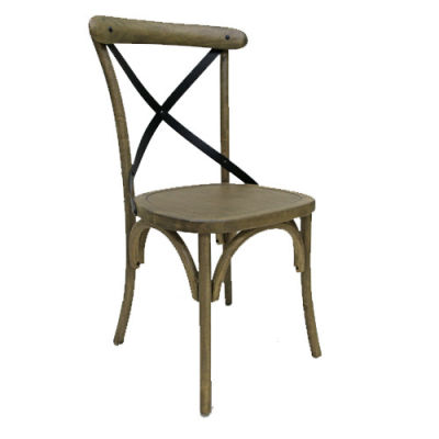 Liberty Weathered Oak Dining Chair Front Angle