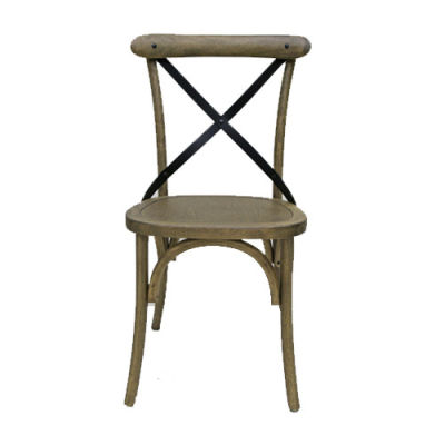 Liberty Weathered Oak Dining Chair Front