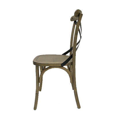 Liberty Weathered Oak Dining Chair Side