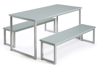 MIDAS BENCH DINING SETS GREY
