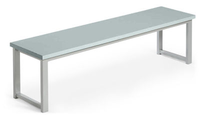MIDAS DINING HEIGHT BENCHES GREY