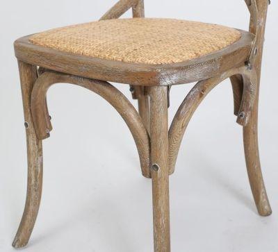 Herson Oak Chair Finish Detail