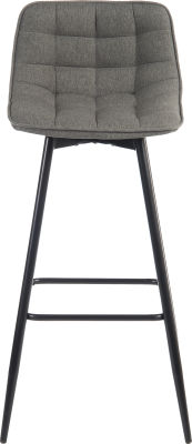 Mirage Quilted Bar Stool Front View