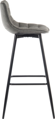 Mirage Quited Bar Stool Side View
