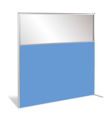 Protect Deluxe Semi Glazed Coloured Laminate Wood Screen