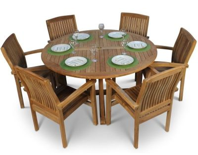 Beckley Large 6 Person Dining Set
