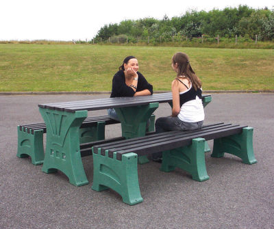 Prima Table & Bench Set