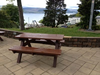 Heavy Duty Picnic Bench - Brown