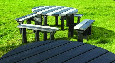 Olympic Bench Black & Grey