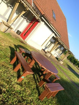 Olympic Picnic Bench - Brown