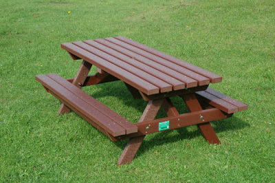 Junior Picnic Bench - Brown