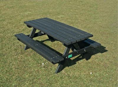 Junior Picnic Bench Black