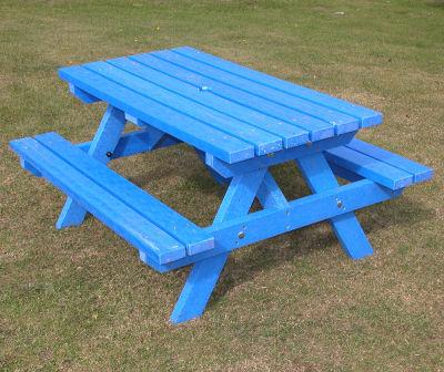 Junior Picnic Bench Blue